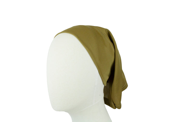 Under Scarf Tube Cap - Hazelnut