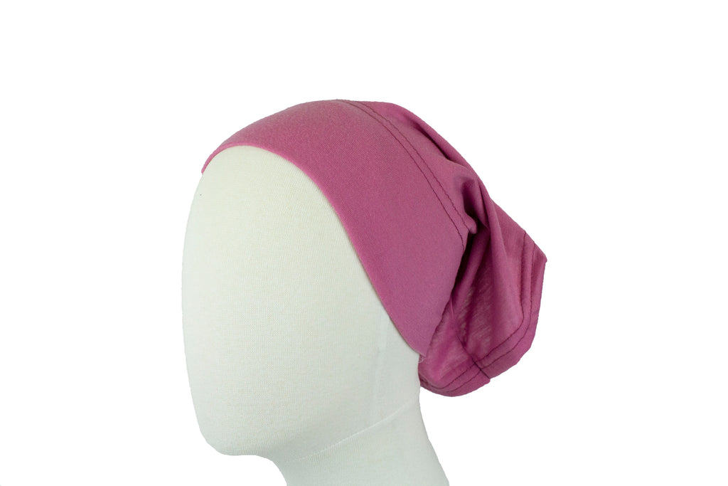 Under Scarf Tube Cap - Mauve