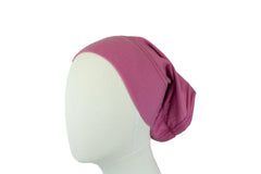 mauve undercap for hijab