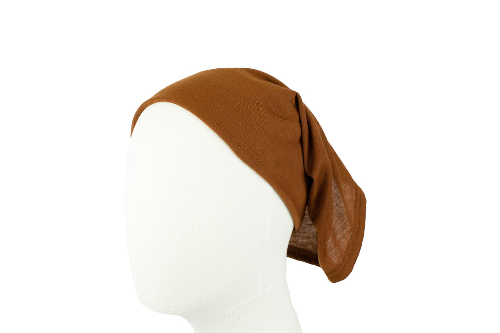 Under Scarf Tube Cap - Coffee