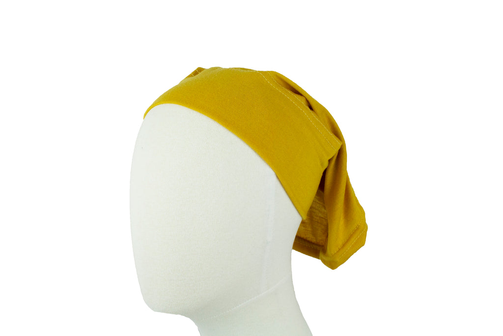 sunflower yellow under cap for hijab