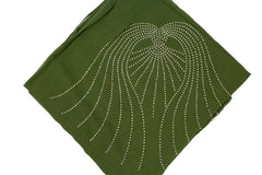 Gem Square Hijab - Olive Angel Wings