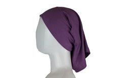 Jersey Under Scarf Tube Cap - Iris