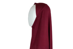 maroon jersey slip on one piece hijab