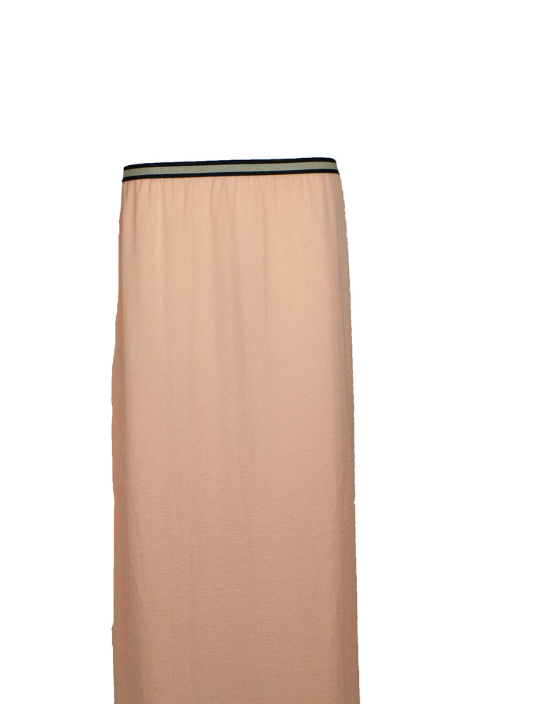 Basic Maxi Skirt - Peach