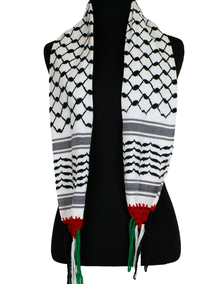 Small Palestine Flag Scarf