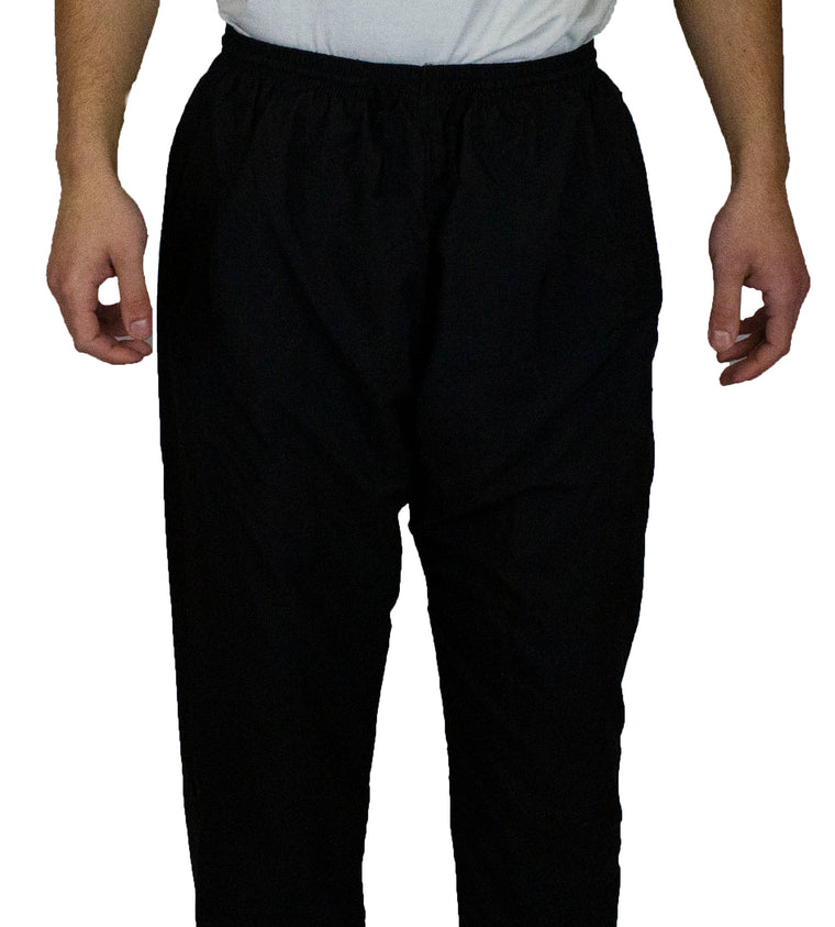 Men's Thobe with Pants - Black