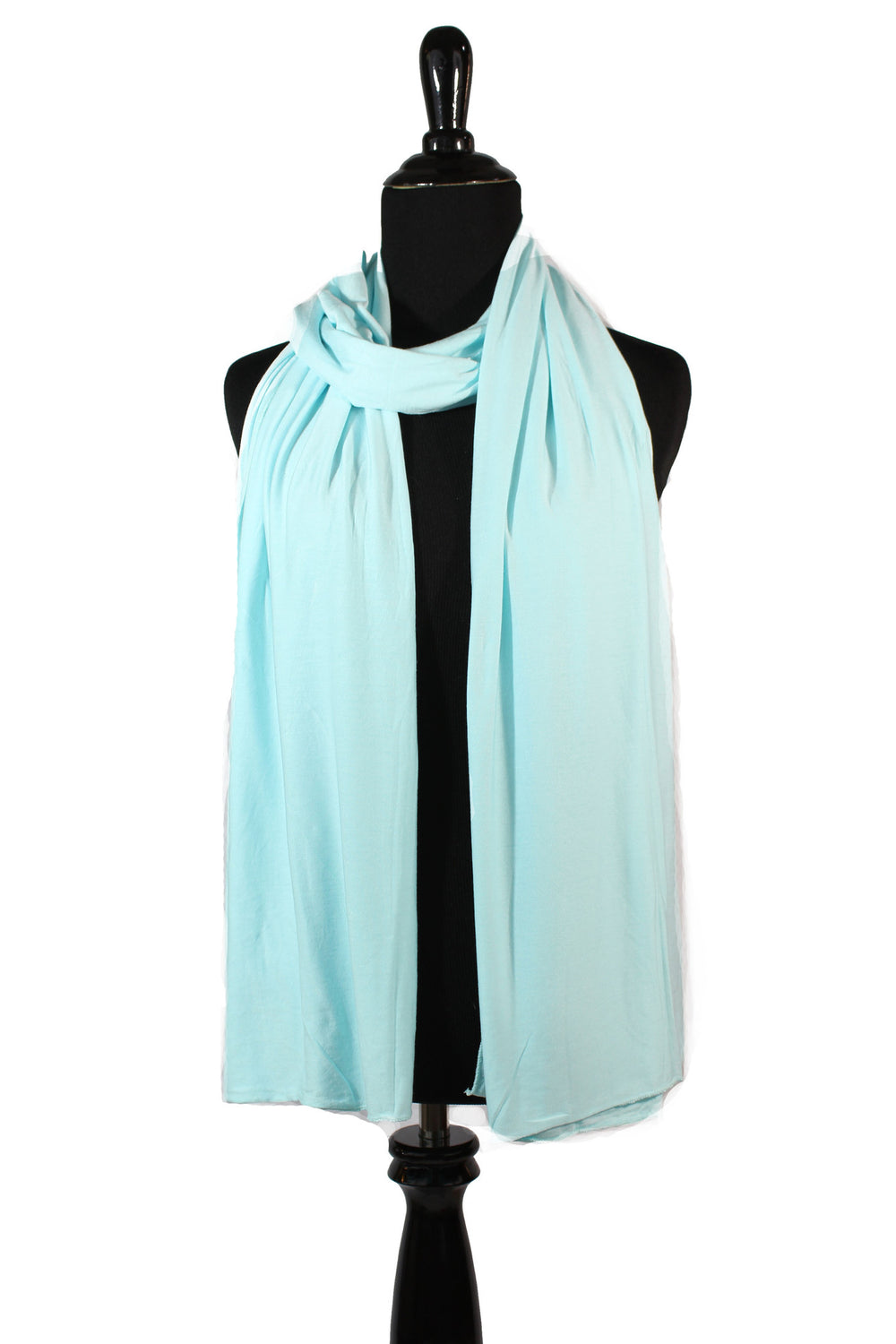 jersey hijab in light baby blue