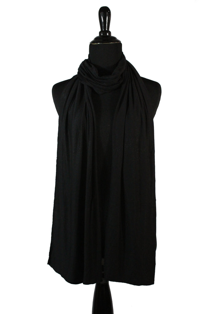 jersey hijab in black