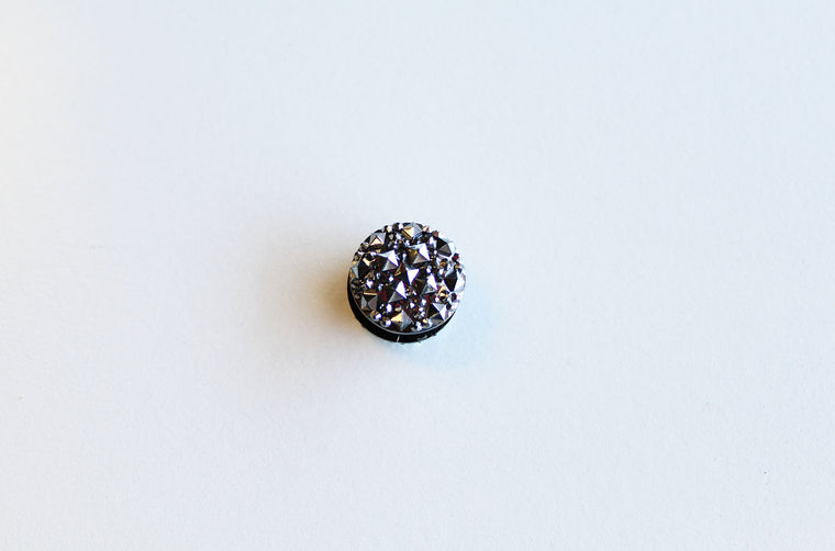 Rhinestone Magnetic Pin - Black