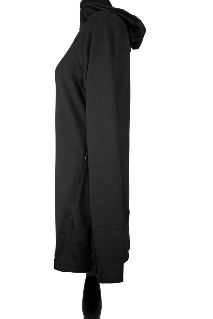 Attivo Hooded Workout Top - Black