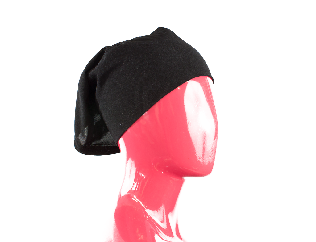 Jersey Under Scarf Tube Cap - Black