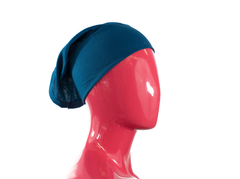 Under Scarf Tube Cap - Blue