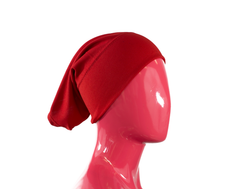 Under Scarf Tube Cap - Red
