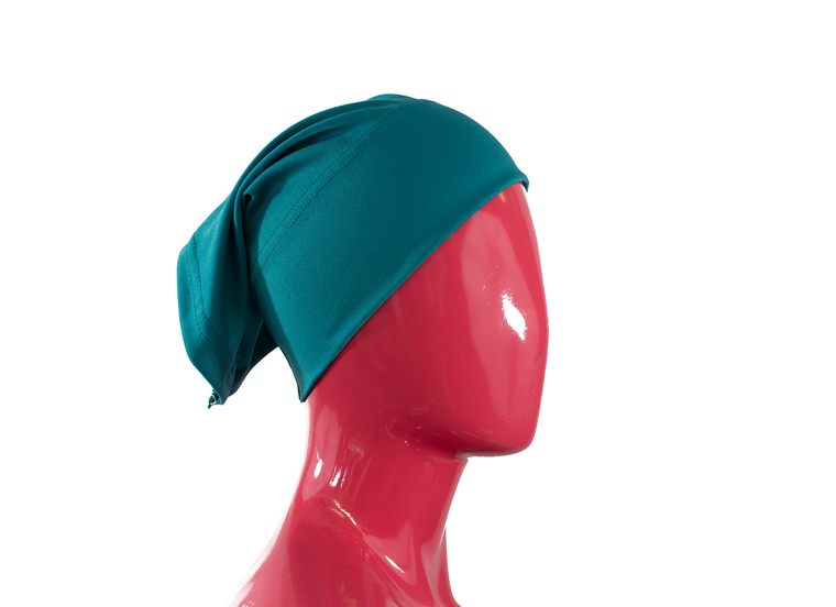 Under Scarf Tube Cap - Teal