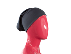 Under Scarf Tube Cap - Charcoal