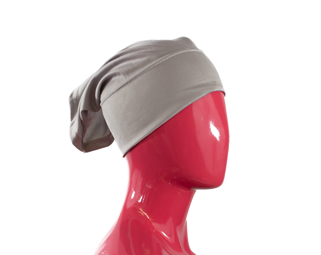 Under Scarf Tube Cap - Silver