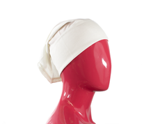 Under Scarf Tube Cap - White