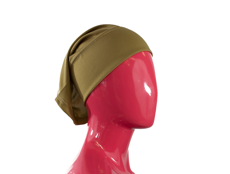 gold under scarf tube cap for hijab