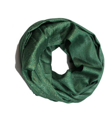 Shimmer Hijab - Dark Green