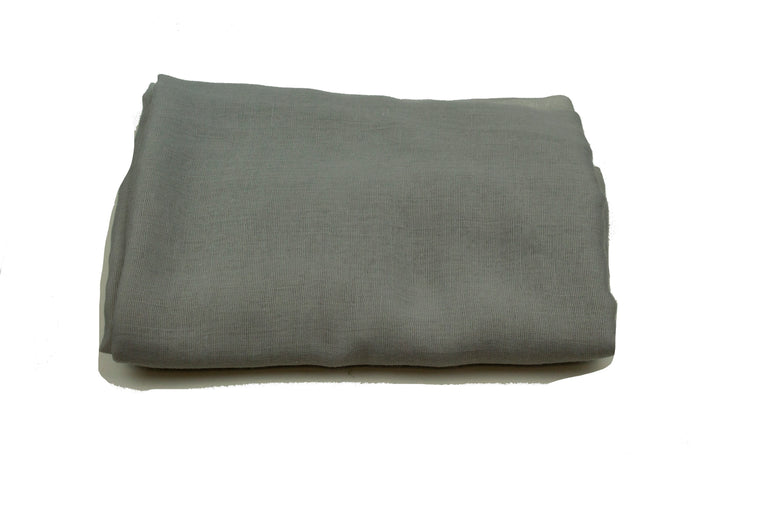 Viscose Hijab - Dark Gray