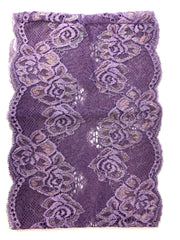 Lace Under Scarf Tube Cap - Lavender