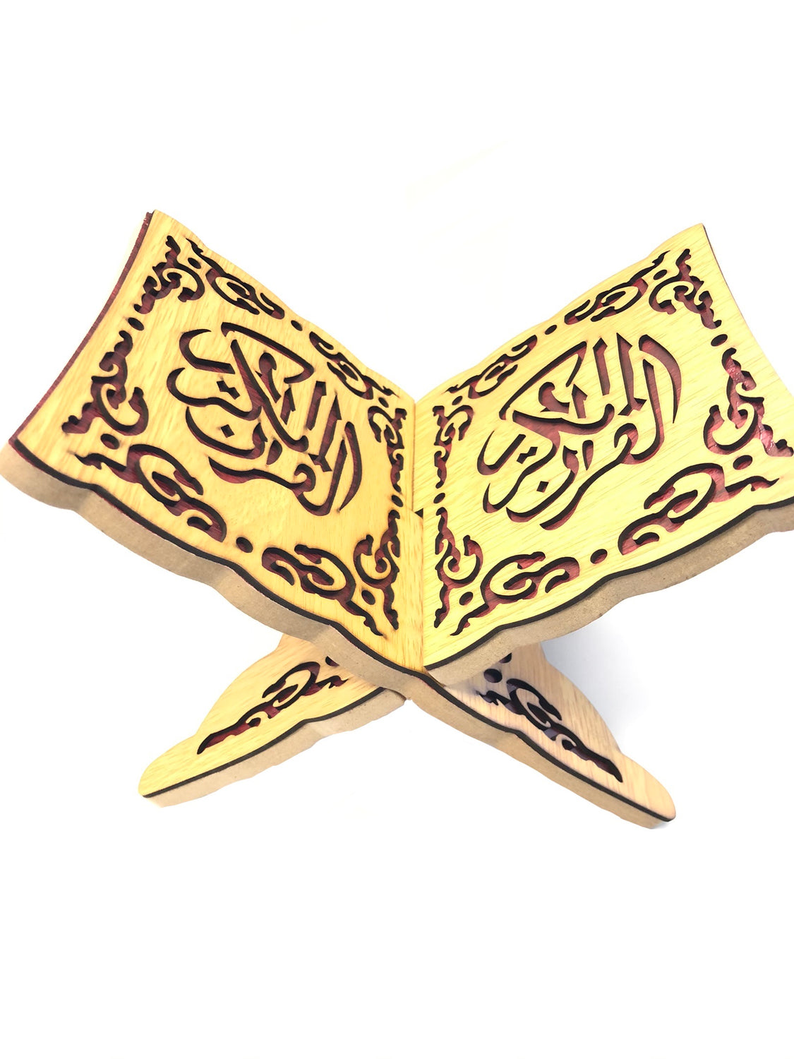Mini Quran Holder Light Brown
