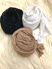 Neutral Beaded Jersey Bundle