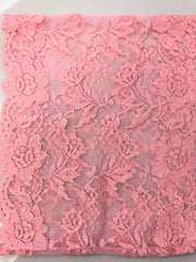 Lace Under Scarf Tube Cap - Pink