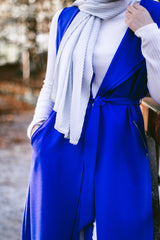 Maxi Cascade Vest - Royal Blue