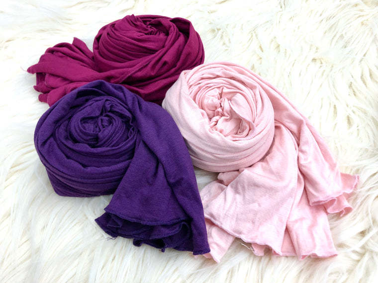 Hues of Pink Bella Bundle - Jersey Hijabs