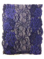Lace Under Scarf Tube Cap - Navy