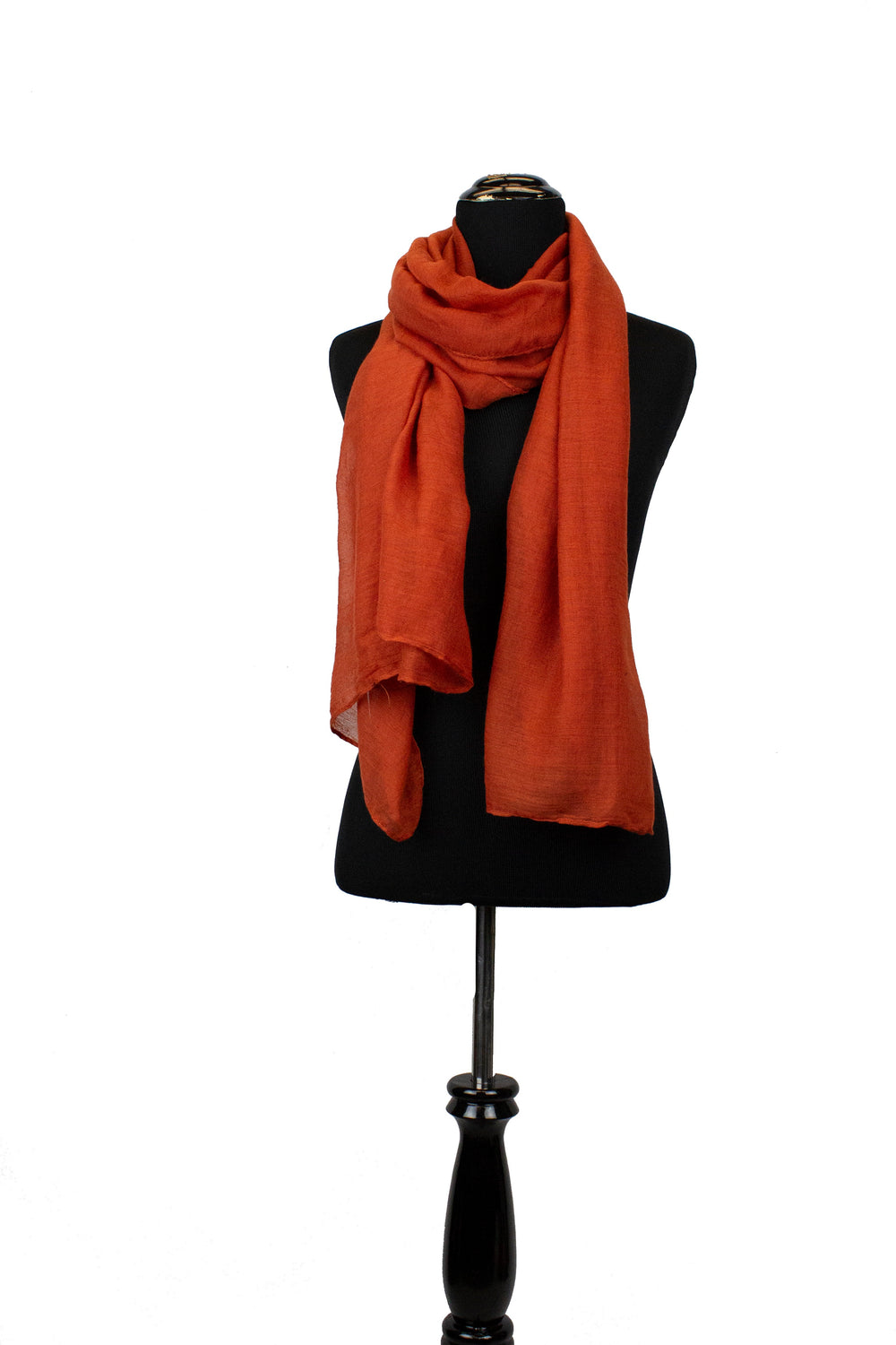 Viscose Hijab - Burnt Orange