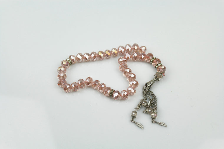 Tasbeeh (33 beads) - Light Pink