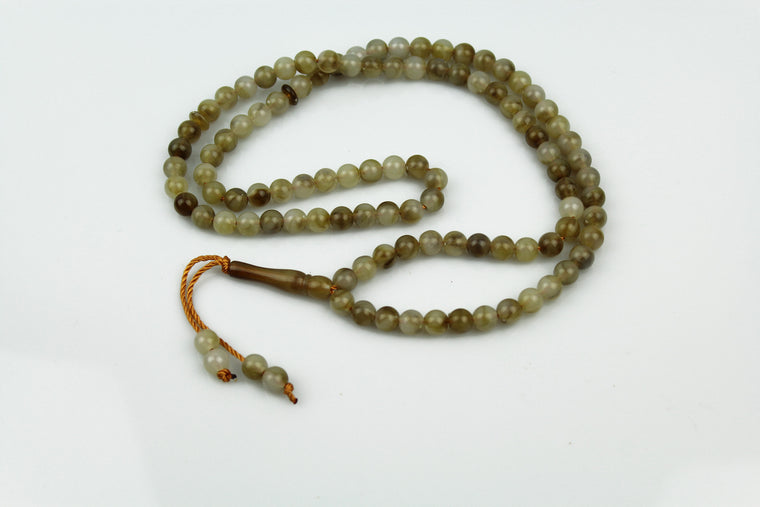 Tasbeeh (99 beads) - Olive Green