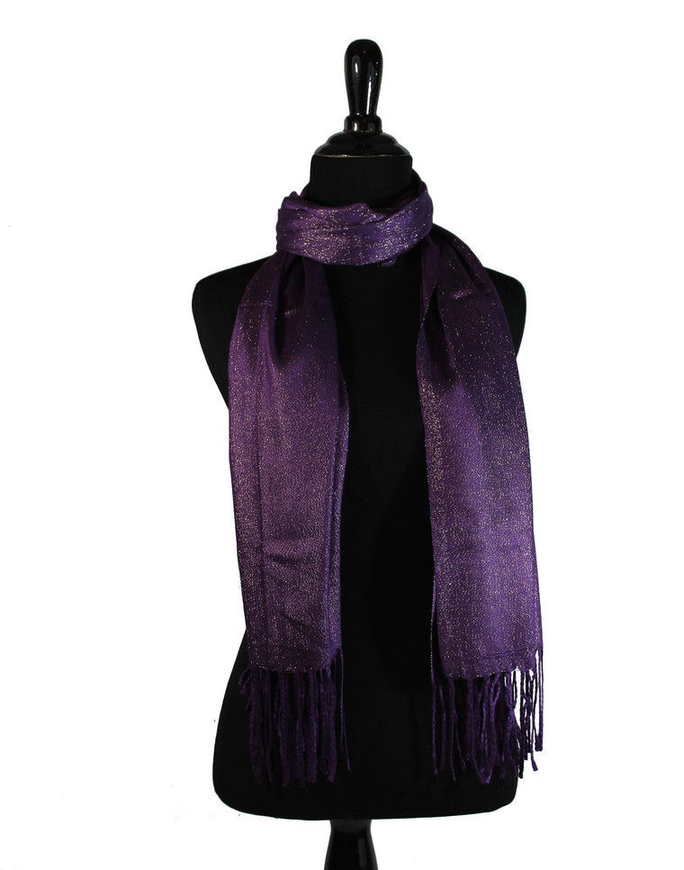Shimmer Hijab - Purple