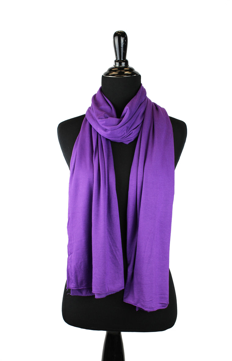 Jersey Hijab - Purple
