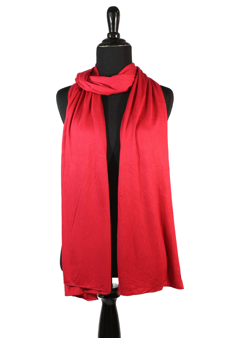 Jersey Hijab - Red