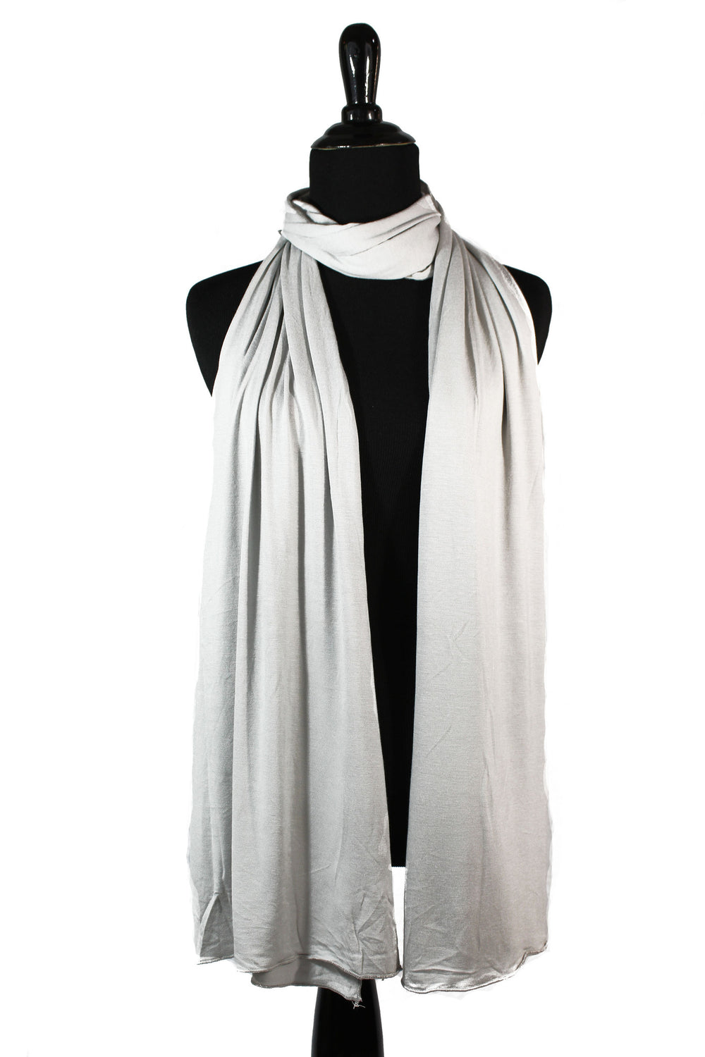 jersey hijab in silver