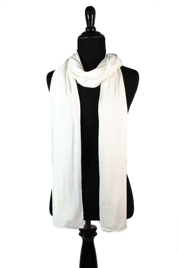 jersey hijab in white