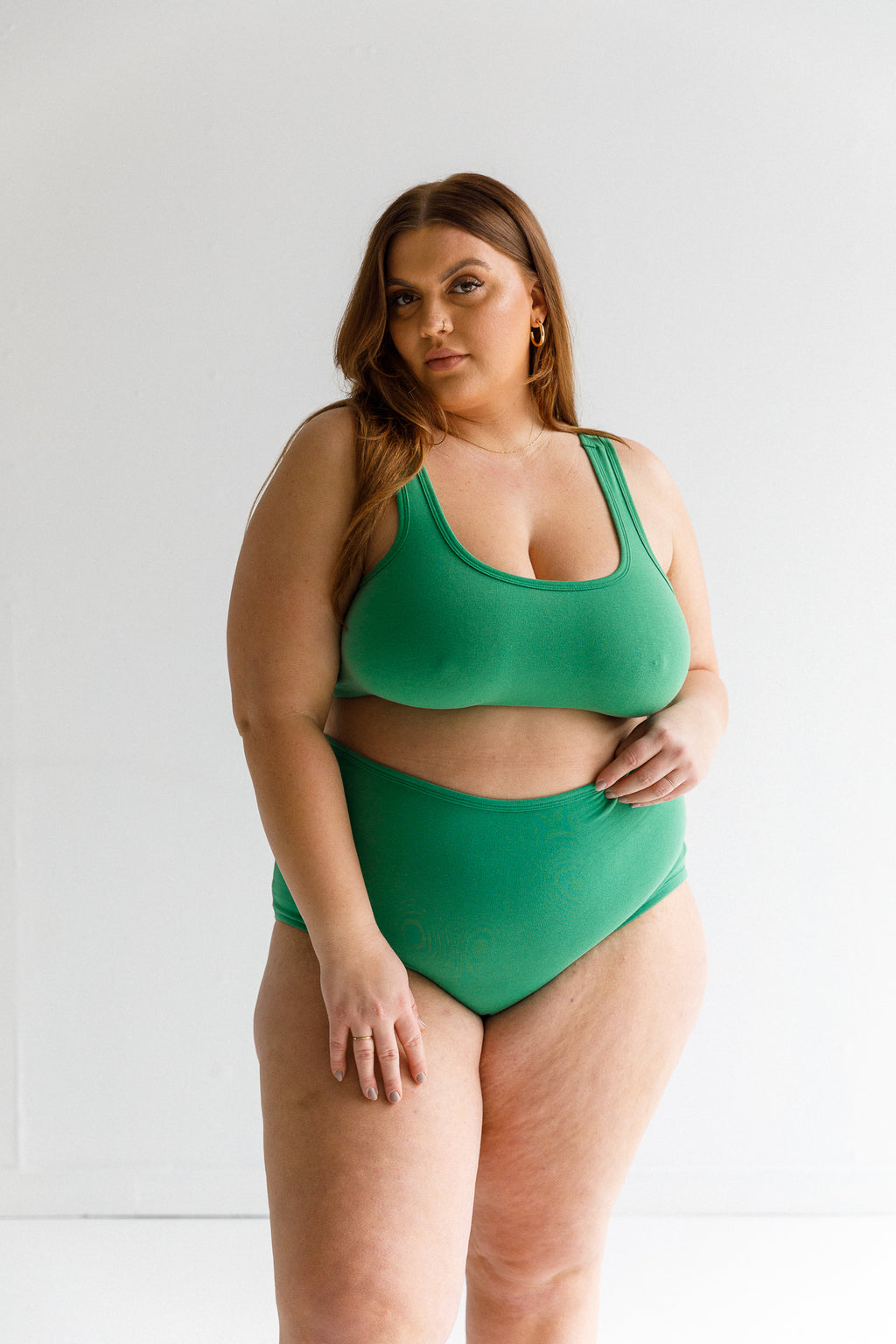 FULL COVERAGE BRA, verdant