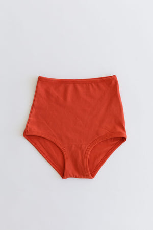 HIGH RISE UNDIES, cadmium