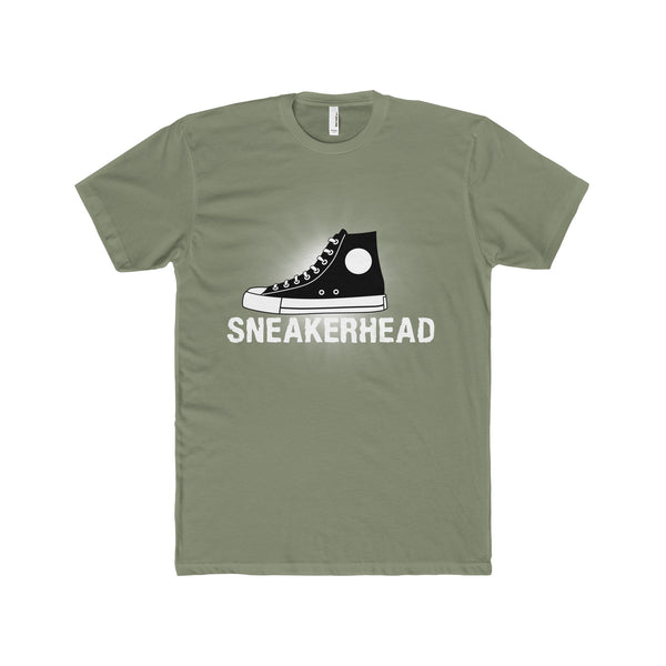 Sneakerhead Men's Premium Fitted Short-Sleeve Crew Neck T-Shirt