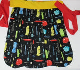 Retro Inspired Kitchen Sweetheart Apron