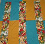 Pin up Aloha Girls Quilt