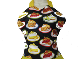 Retro Inspired Diner Pie Full Length Apron