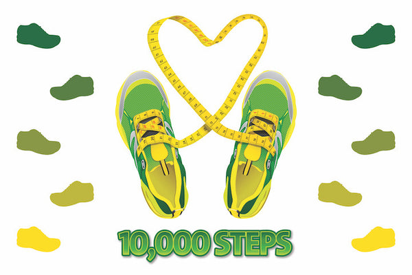 10k Steps Floor Sticker - Nutrition Education Store