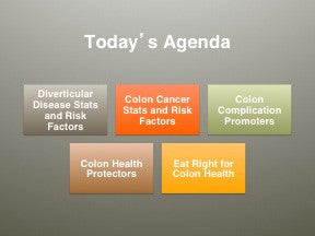 Nutritional Strategies for Colon Health PowerPoint Handout Set