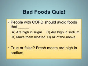 COPD and Nutrition for Women PowerPoint Show and Handouts - DOWNLOAD - Nutrition Education Store