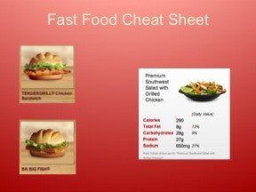 Bariatric Eating Out PowerPoint and Handout Lesson - DOWNLOAD - Nutrition Education Store